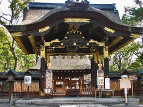 正面通・豊国神社