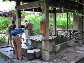 梨木神社・染井の井戸