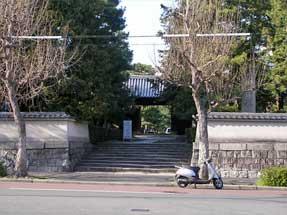 智恵光院通・大徳寺