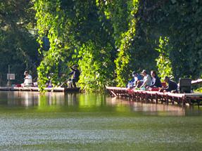 みどり湖・ヘラ鮒釣り