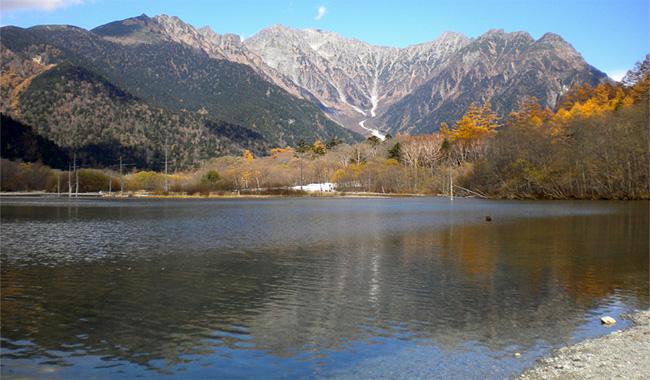 長野・大正池