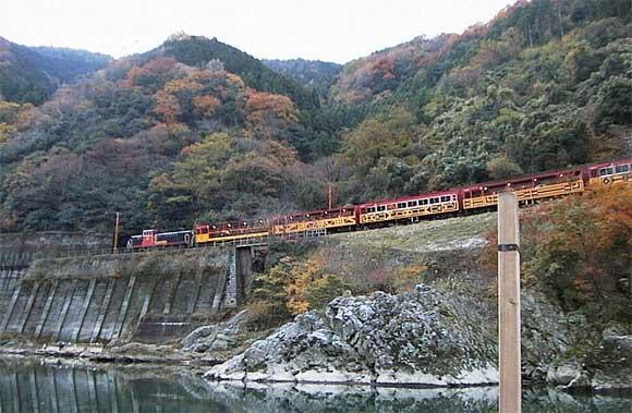 保津川・トロッコ列車
