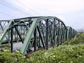 大井川・東海道本線「大井川鉄橋」