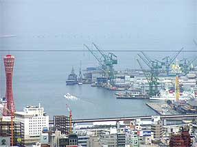 神戸市街・神戸港