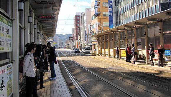 路面電車の似合う街