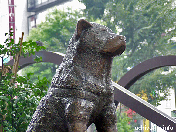 渋谷駅前・忠犬ハチ公