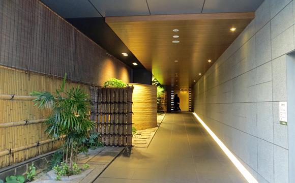 ホテルユニゾ京都四条烏丸エントランス