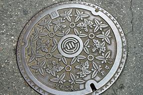 埼玉県川越市・マンホールの蓋