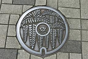神奈川県藤沢市のマンホールの蓋