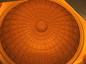 改修前の丸の内北口の天井