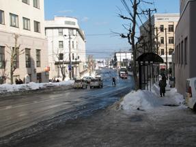 小樽の街角
