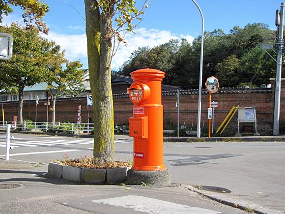 北海道函館市船見町・郵便ポスト