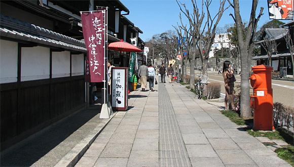 夢京橋キャッスルロード・郵便ポスト