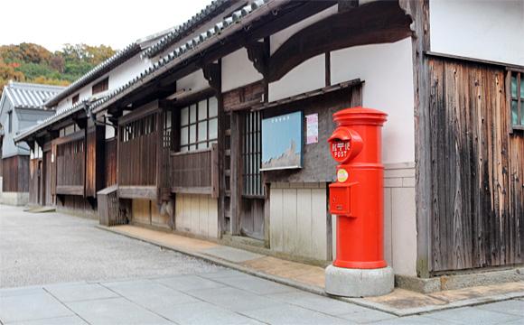 本島・笠島の郵便ポスト