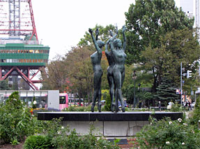 札幌の街角・大通公園