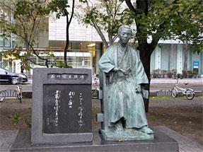 札幌の街角・石川啄木