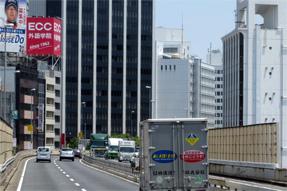 首都高速3号渋谷線・六本木ヒルズ