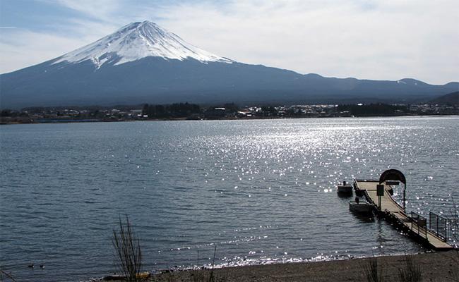山梨・西湖
