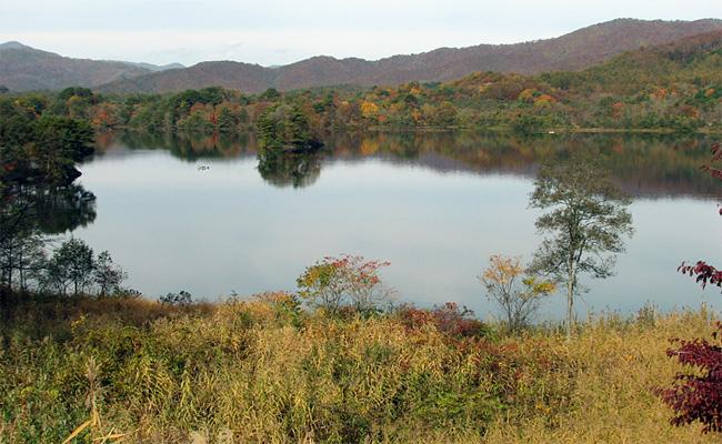 福島・小野川湖