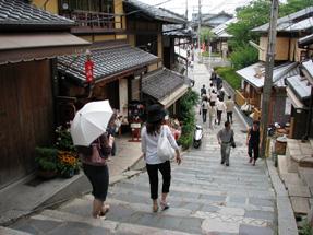 京都・産寧坂(三年坂)