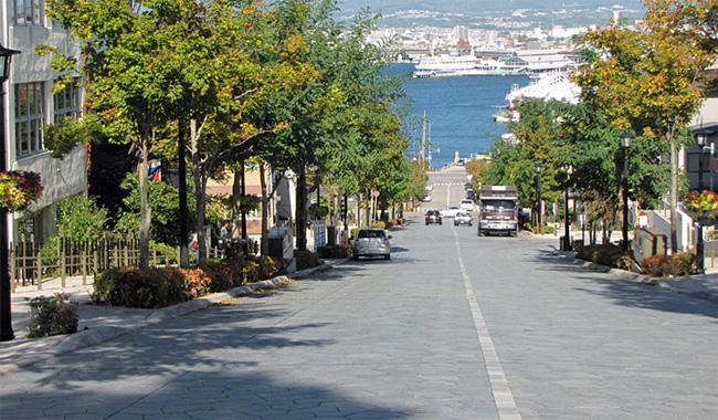 函館・八幡坂