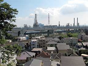 横浜の市街地
