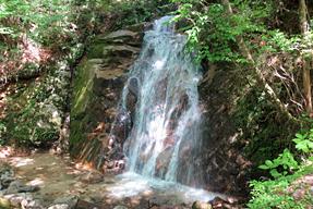 旧中山道男滝女滝
