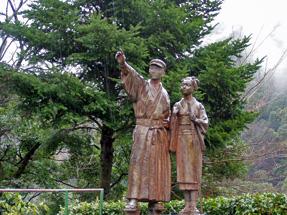 伊豆の踊り子の像