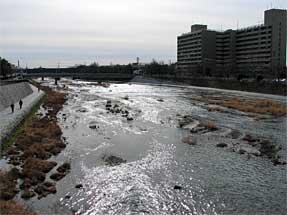 七条通・鴨川