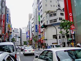 文化村通り