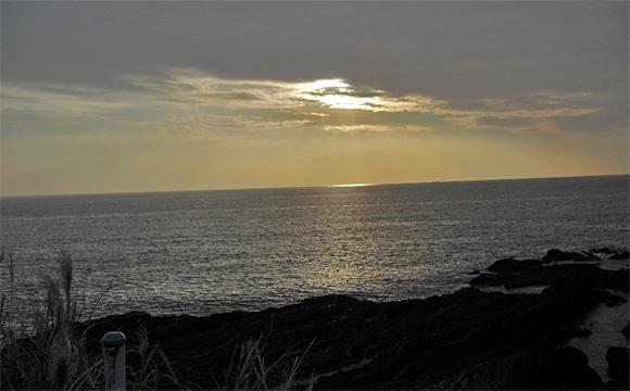岬カフェ・東京湾の夕陽