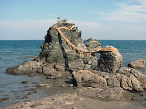 三重・二見浦「夫婦岩」