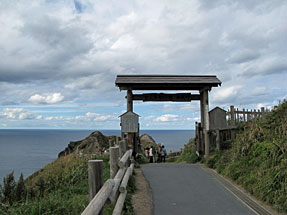 神威岬・女人禁制の門