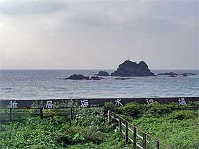 島根・折居海岸