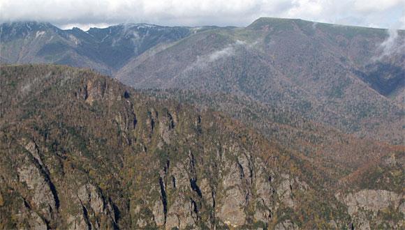 黒岳5合目からの景観