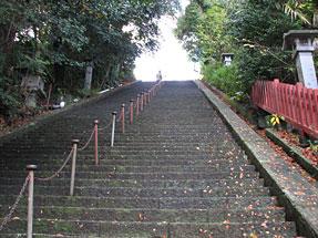 賤機山・静岡浅間神社からの登り口