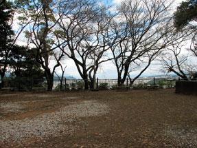 賤機山・静岡鉄道浅間山リフトの山頂駅跡