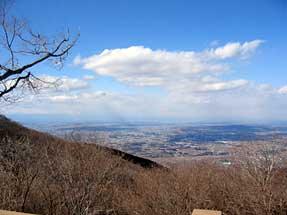 筑波山頂からの眺望