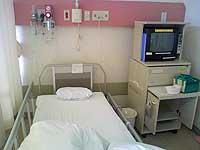 入院生活・ベッド