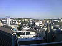 退院日・窓からの景色