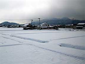 秋田新幹線沿線風景