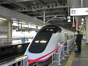 仙台駅・秋田新幹線「こまち」