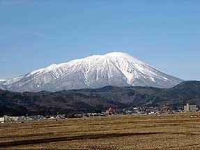 正月パス・岩手山