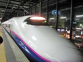 盛岡駅・東北新幹線「はやて28号」