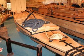 琵琶湖の漁船