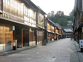 金沢・ひがし茶屋街