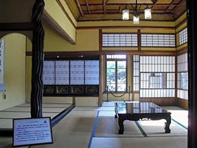 旧神谷伝兵衛稲毛別荘・2階和室