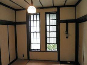 旧華頂宮邸・2階の和室
