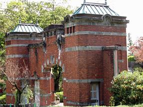 金沢監獄正門の内側