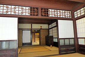 内子町八日市護国伝統的建造物群保存地区・上芳我家住宅